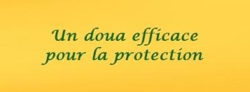 Doua pour protection