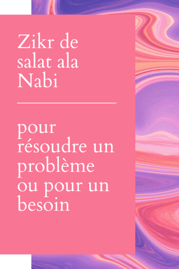 Zikr de salat ala Nabi